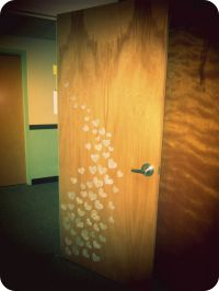 College Door Decorations on Pinterest