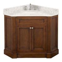 corner+bathroom+vanity+cabinet | Bathrooms | House Ideas ...