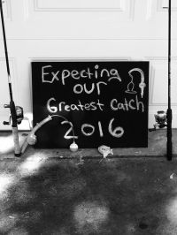 Fishing baby announcement idea | Baby ideas | Pinterest ...