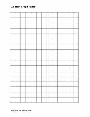 Practice Your Math Skills With This Printable 2-Centimeter Graph - math graph paper
