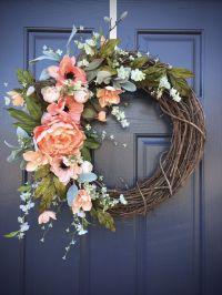 Door Reefs & Spring Wreaths | Door Wreath Elegance ...