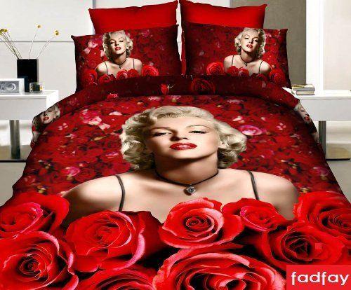 Cool Marilyn Monroe Themed Girls Bedroom Ideas  Awesome Red and - marilyn monroe bedroom ideas