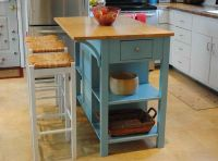 Small Movable Kitchen Island With Stools | IECOB.INFO ...