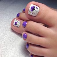 Gorgeous Toe Nail Design Ideas  See more: https ...