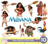 Moana Disney CutOut Printable, Moana Disney PNG Files ...