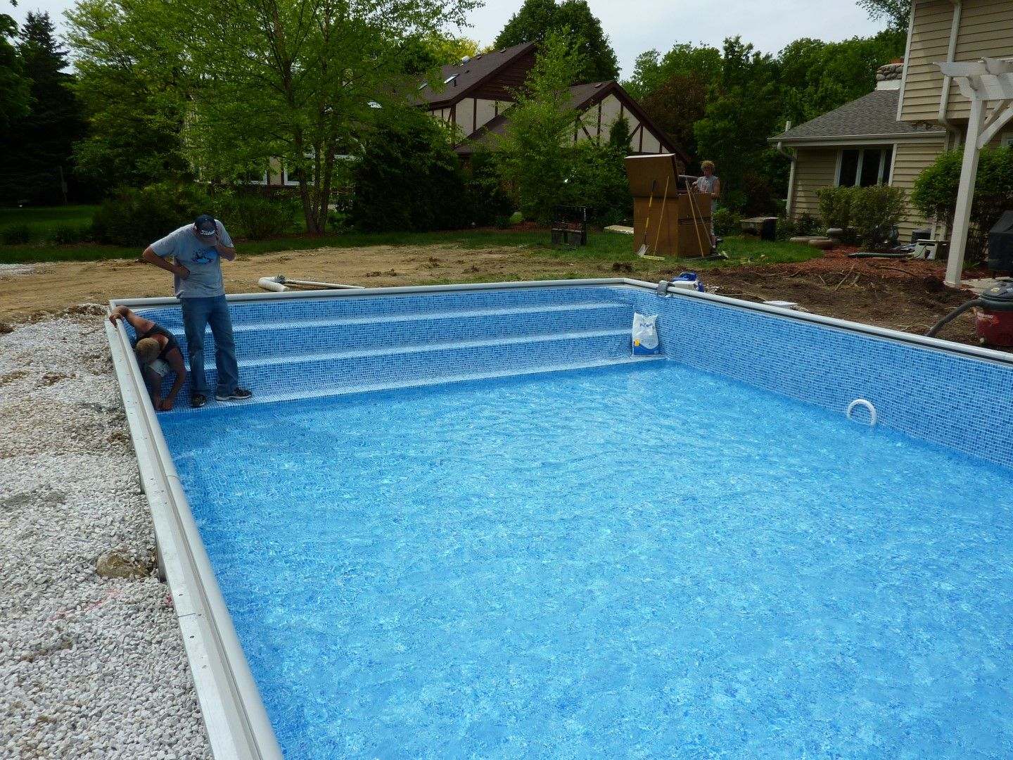 Best Diy Inground Pool Kit Fiberglass Swimming Pool Kits Fiberglass Pool Steps