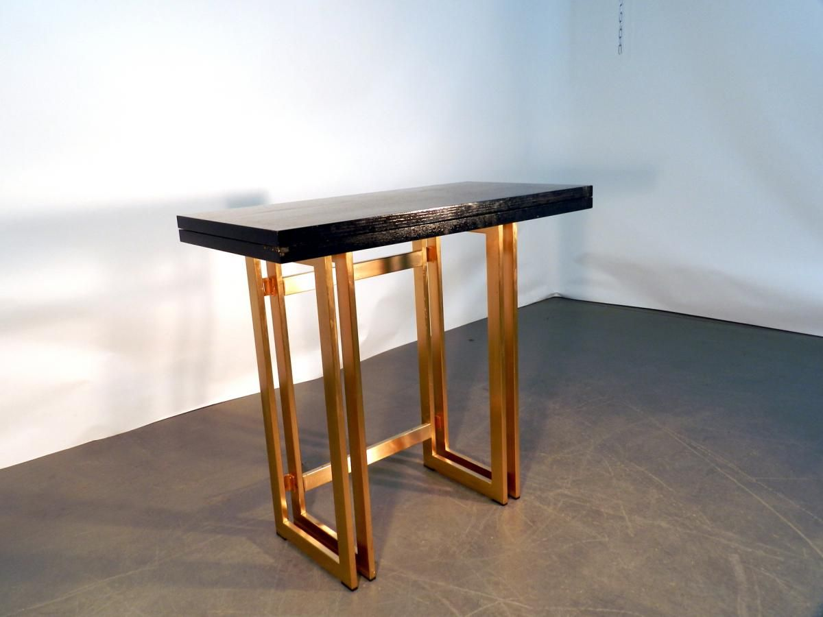 Meuble Transformable Table Console Transformable