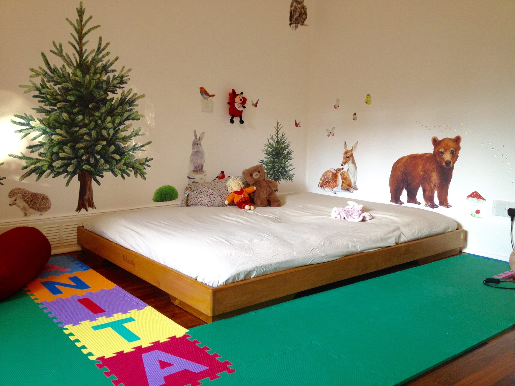 On Floor Beds Woodly From London Montessori Floor Bed Pinterest