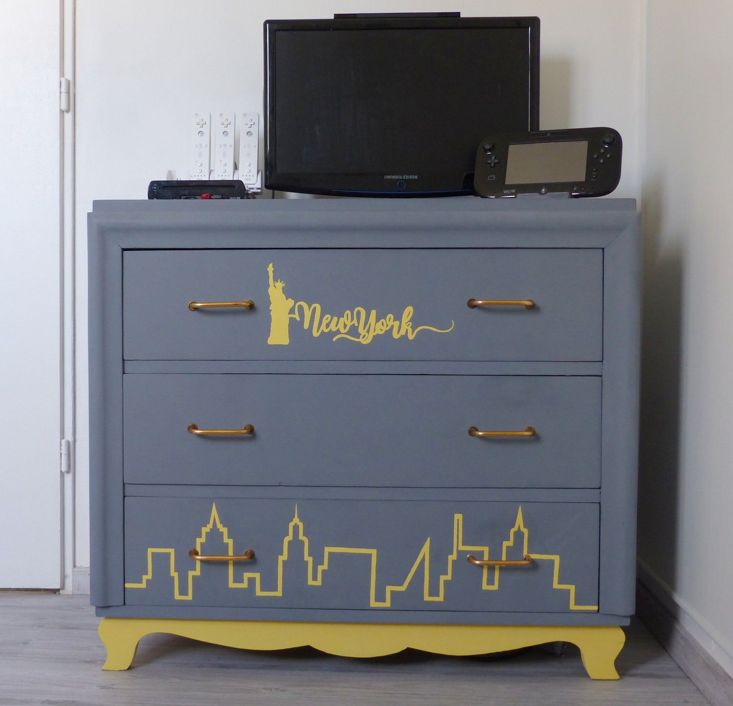 Deco New York But Relooking Meuble Commode New York Idée Déco Chambre Ado