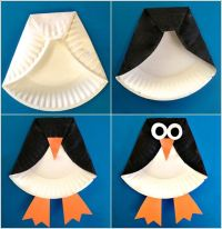 penguin door decoration