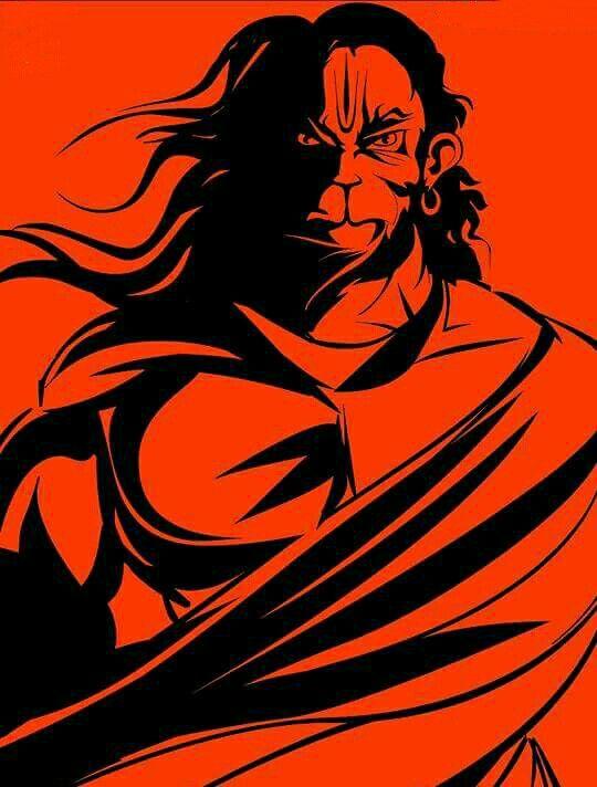 Indian Flag Animation Wallpaper Anjaneya By Karan Acharya Har Dev Pinterest Hanuman