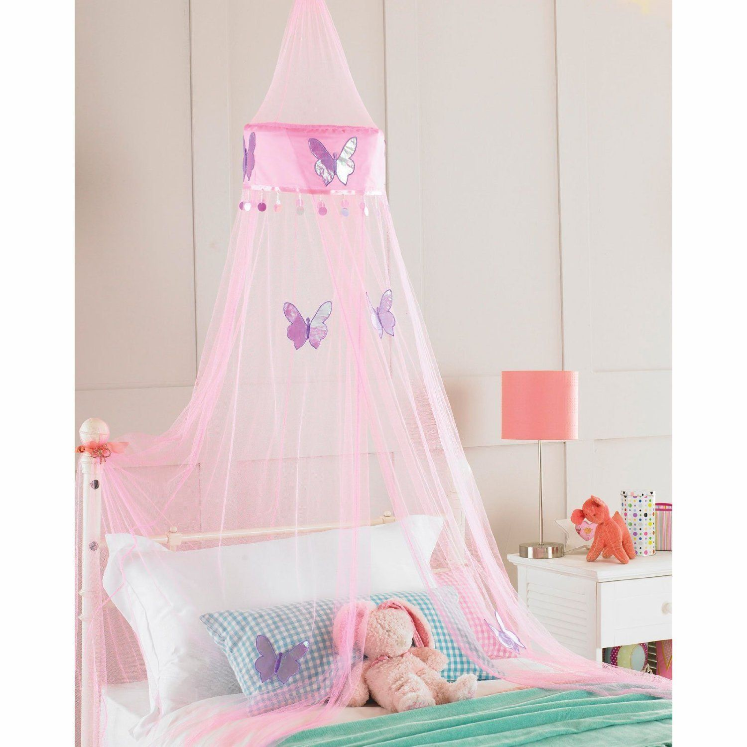12.49 Childrens Girls Bed Canopy Mosquito Fly Netting Net