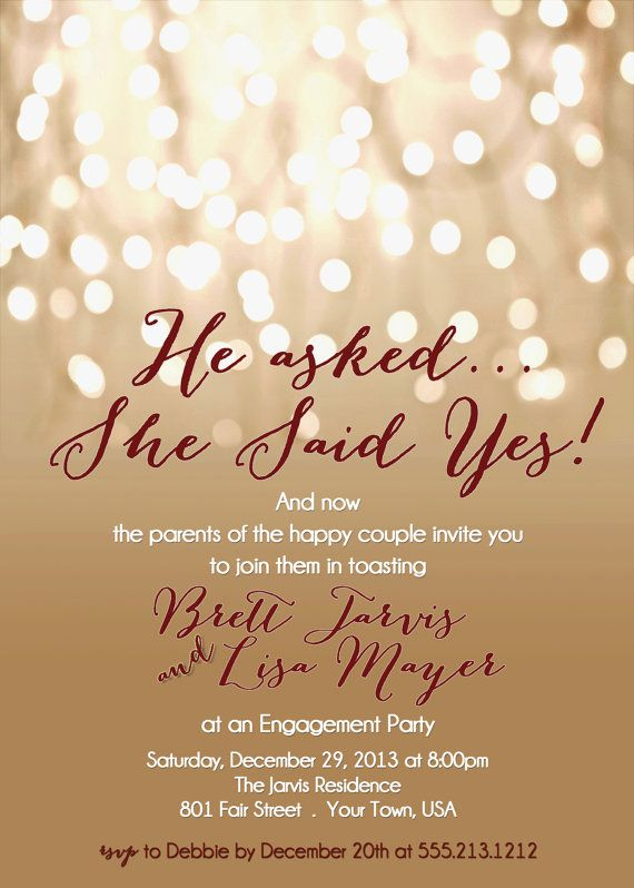 Free Printable Engagement Party Invitations Templates u2026 Pinteresu2026 - how to word engagement party invitations