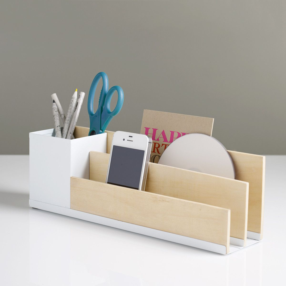 Office Desk Organiser Diy Inspiration Desk Organizer Use Balsa Wood Or