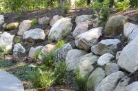 boulder retaining wall | boulder retaining wall projects ...