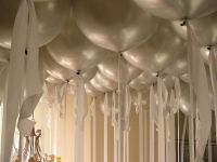 silver wedding anniversary decorating ideas | Ceiling ...