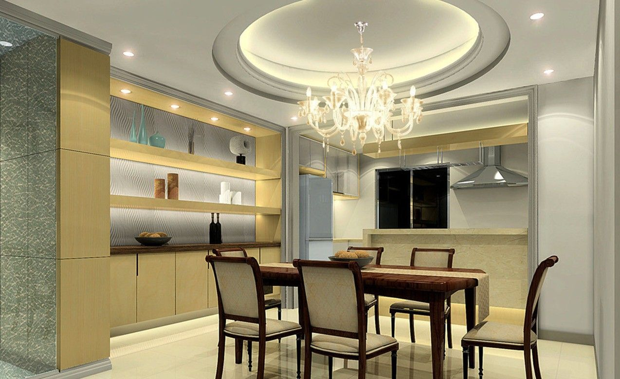 Modern ceiling design various dining room
