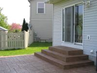 stamped concrete patio steps - Google Search | stamped ...