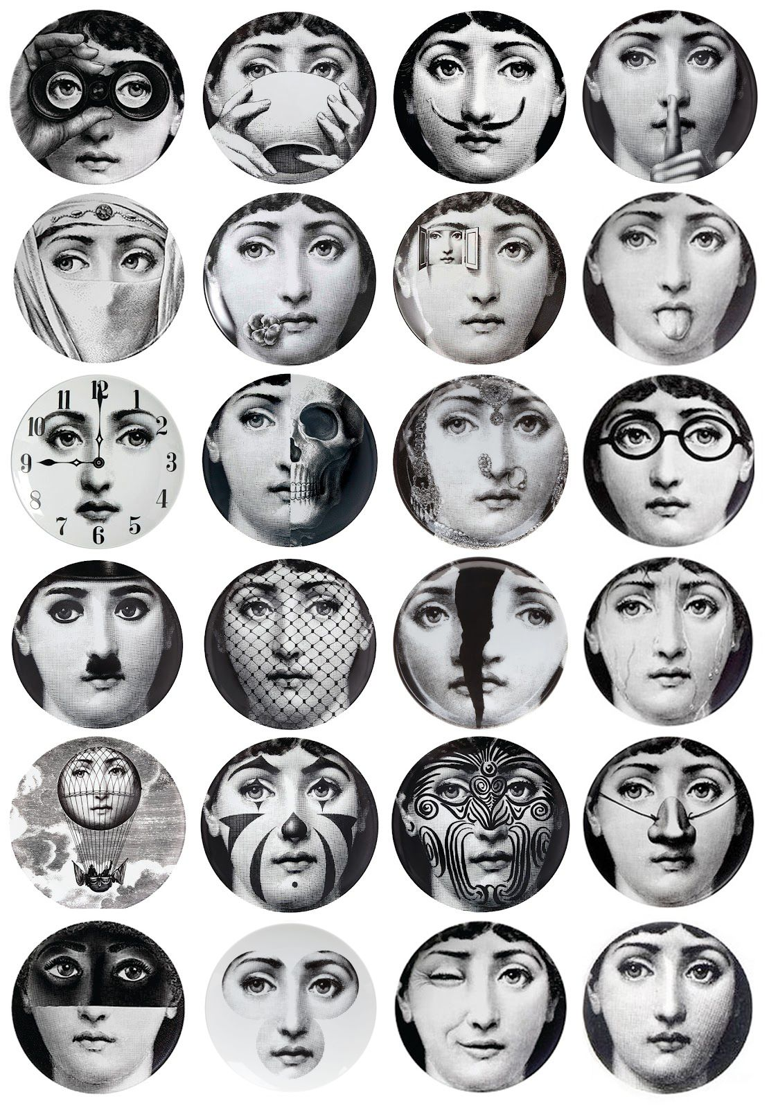 Fornasetti Piero Fornasetti Was Born During 1913 In Milan And As An