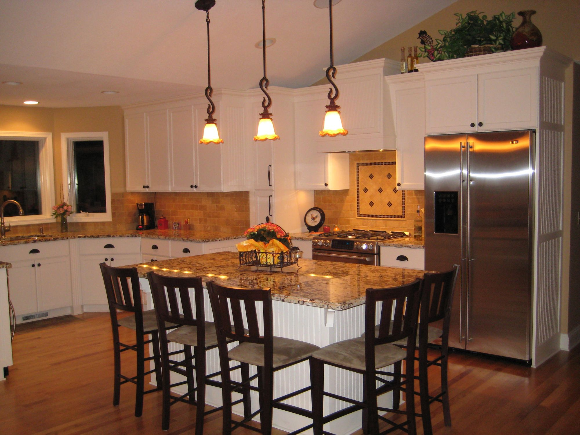 ... Split Level Homes Split Level Kitchen Remodel A Split Level House In  Chanhassen Gets A Family ... Part 38