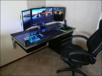 Best Custom Pc Gaming Computer Desk Ideas | Gaming ...