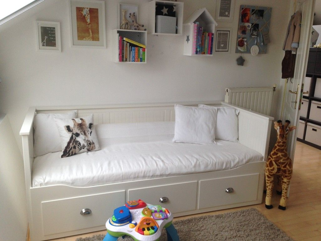 Ausziehbett Interio Lucians Room Nursery Babyroom Grey White Inspiration