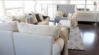 Grey, white, beige living room | Home Dcor & Home Accents ...
