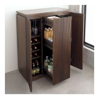 Monaco Liquor Wine Rack Whiskey Glasses Storage Bar