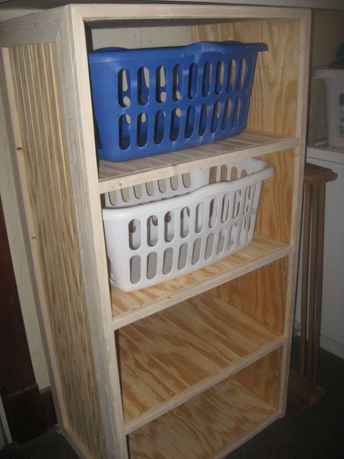 Laundry Basket With Shelves Diy Laundry Basket Shelves Laundry Basket Dresser For