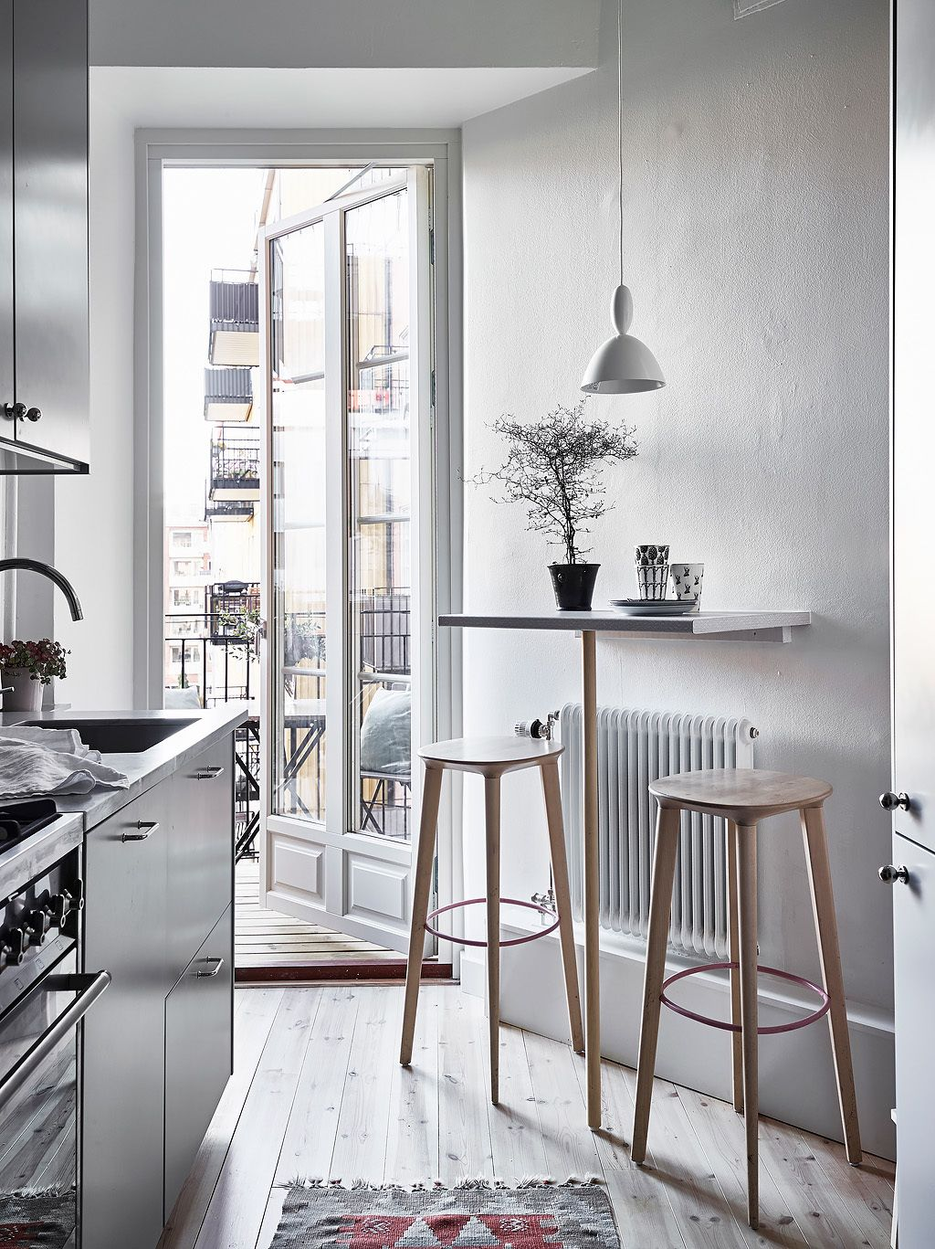 Table Ideas For Small Kitchens Tiny Bar Table For A Small Kitchen Interiors Scandi