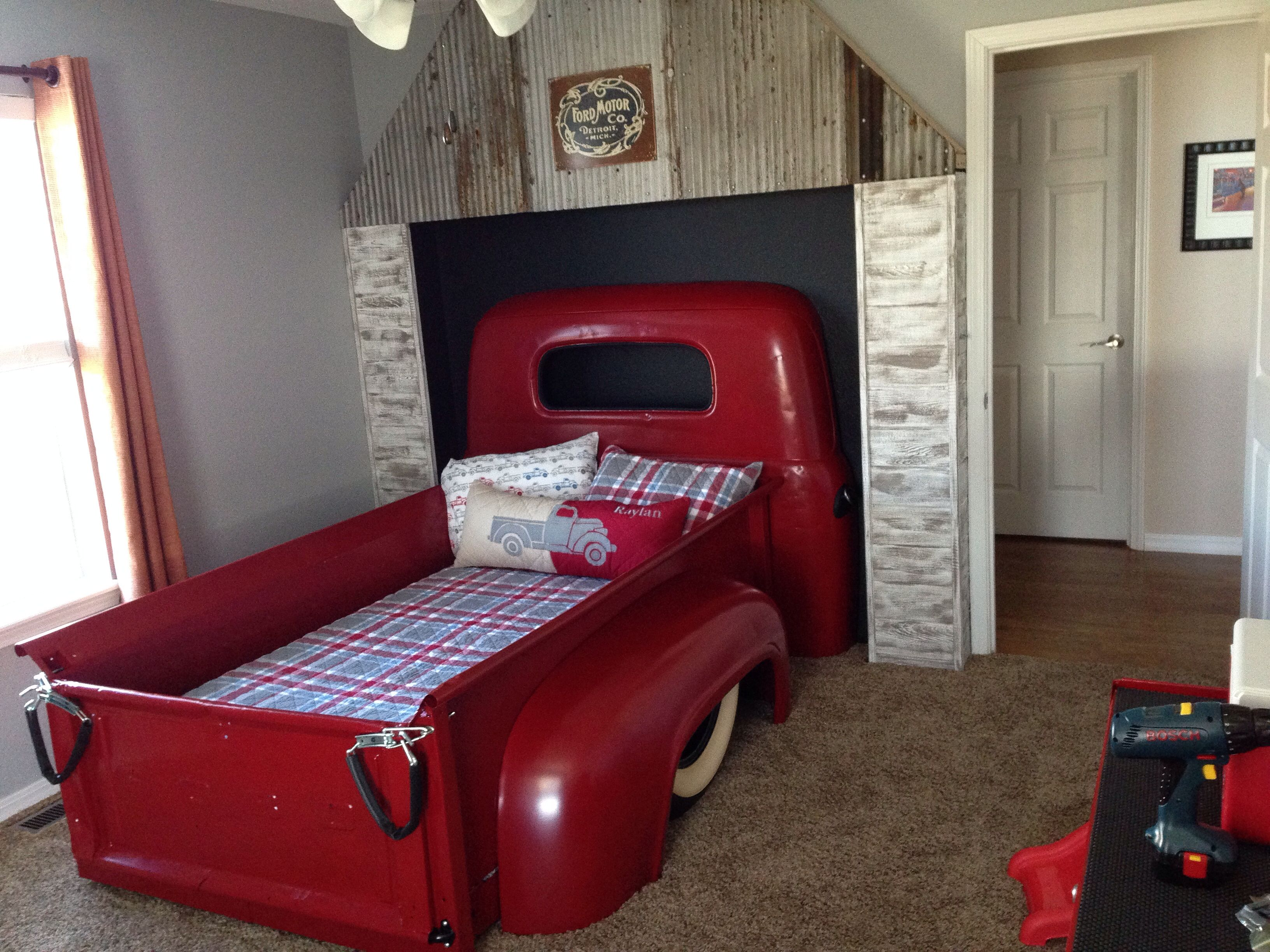 Wooden car beds for boys - Random Post