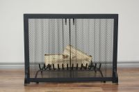 Fireplace Screen - Anvil Fireside - HERITAGE Curtain Mesh ...