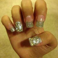 Acrylic nails designs Glitter Nail Designs   Nail Design ...
