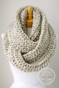 Crochet Infinity Scarves on Pinterest