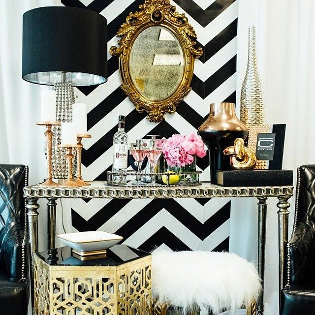 10 things that rocked my world this week 92014 Black white - black white and gold living room ideas