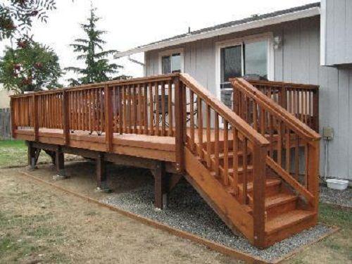 Deck Stair Railing Design Ideas See 100s Of Deck Railing