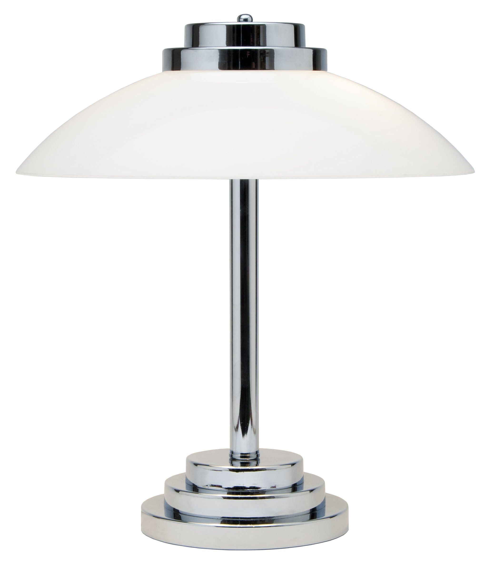 House Table Lamp Art Deco Inspired Chrome Table Lamp About The House