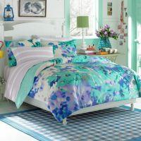 light blue teen bedding set ~ http://makerland.org