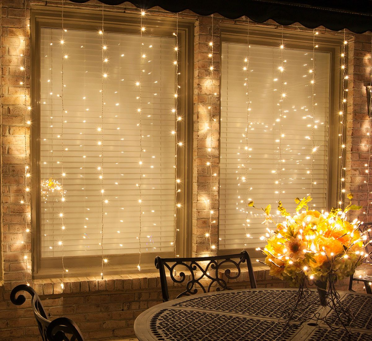 Diy Wedding Backdrop With Lights Spoiler Alert Diy Curtain Lights Are Easier Than You
