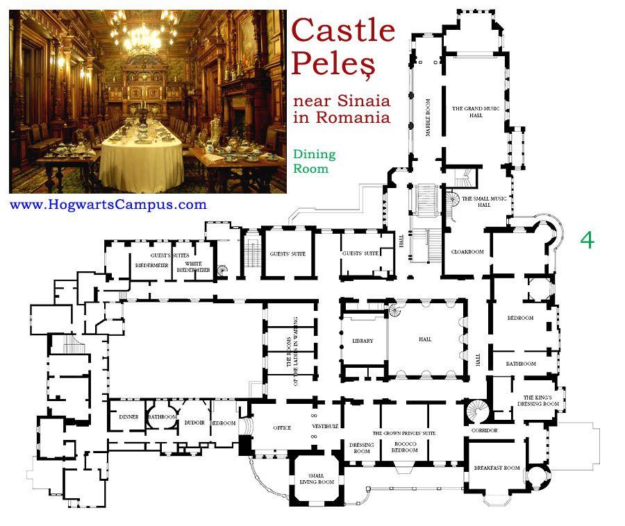 Castle Peles Second Floor Architecture Pinterest