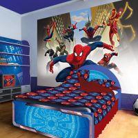 spiderman bedroom wallpaper | bedroom ideas for boys ...