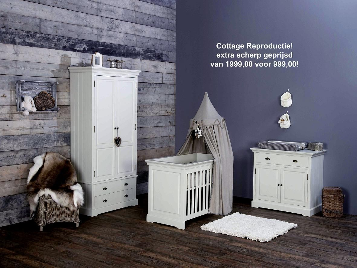 Landelijke Commode Simple Cheap Babykamer Cottage Reproductie Incl Kast