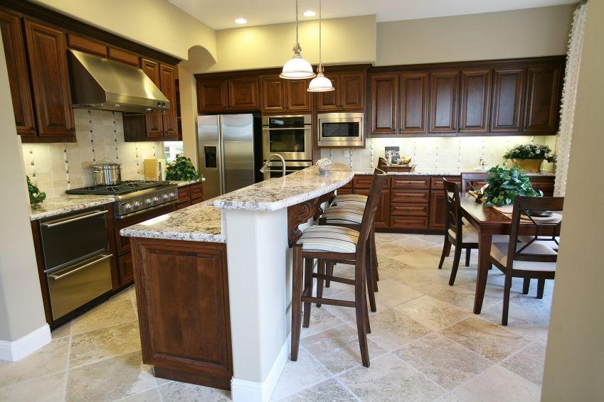 Popular Kitchen Countertop Ideas Bar areas, Countertops and Kitchens - kitchen countertop ideas