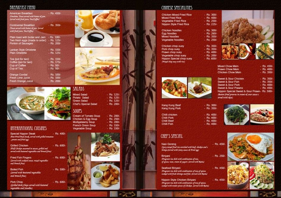 this one also cool and nice but dont have background dinner set - menu design template
