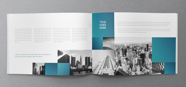 Architecture Squares Brochure 4 25 Really Beautiful Brochure - architecture brochure template