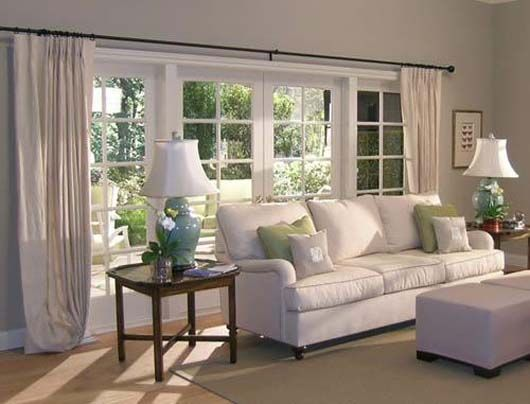 window treatments for bay windows in living room FOR THE HOME - living room windows
