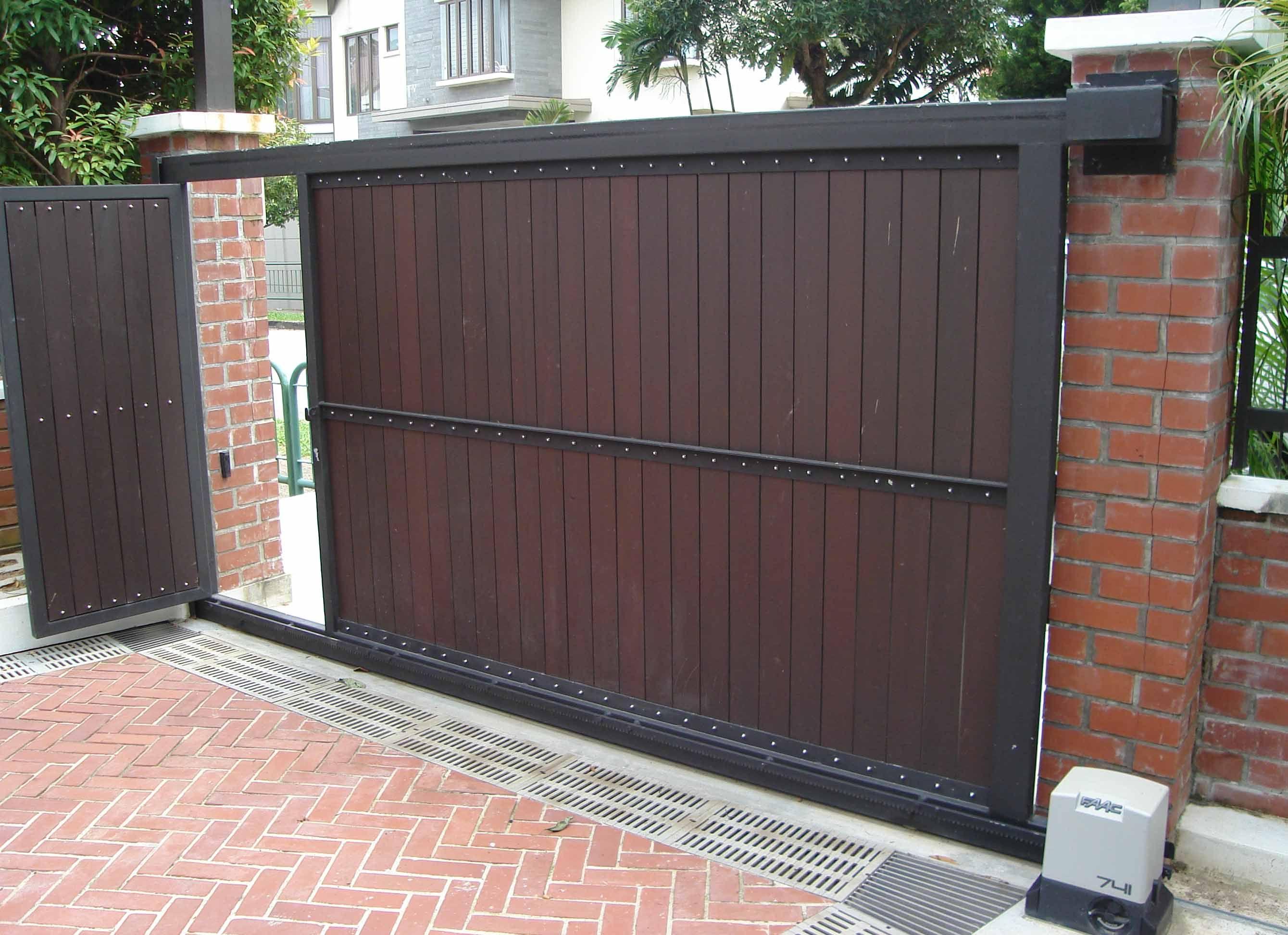 Automatic sliding house gates google search