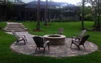 Firepits made with Pavers in Sanibel FL | Adams ...