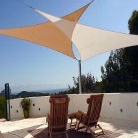 Outdoor Patio Sail Sun Shade Canopy, Patio Sun Shades ...