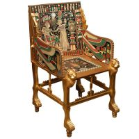 English Egyptian Revival Armchair | Armchairs and English